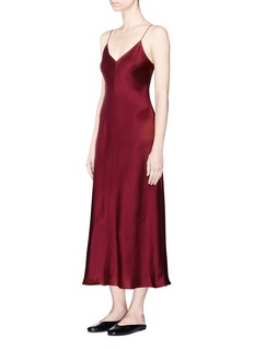 The Row 'Guinevere' silk satin slip dress