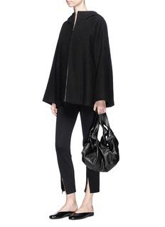 The Row 'Lennai' flare sleeve hooded jacket