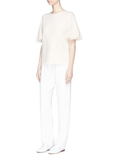 The Row 'Marley' butterfly sleeve cashmere top