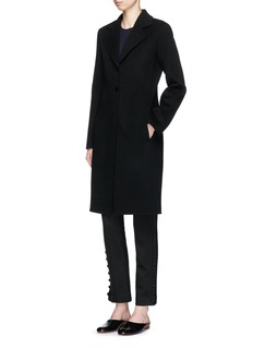 The Row 'Coyan' wool knit long coat