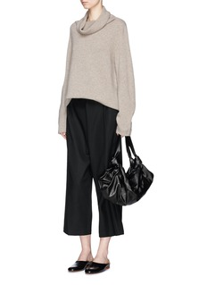The Row 'Lexer' cowl neck cashmere sweater