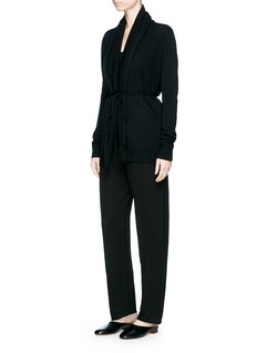 The Row 'Sarene' drawstring waist cashmere cardigan