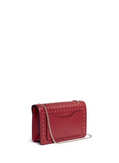 Valentino 'Demilune' Rockstud small leather crossbody bag