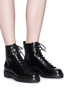 Valentino 'Soul Rockstud' leather ankle boots