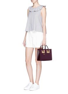 Sophie Hulme'Albion' Medium saddle leather bag