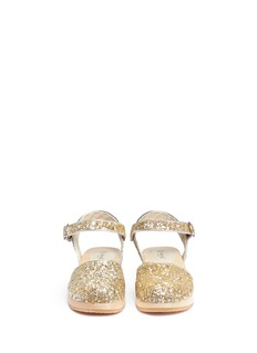 Seed Heritage x The Webster glitter kids clogs