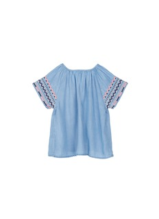 Seed Heritage  x The Webster folk embroidered kids tunic