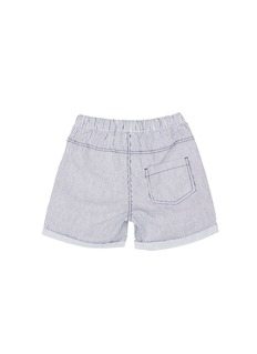 Seed Heritage  x The Webster stripe roll up kids shorts