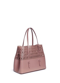 Alaïa 'Vienne' small lasercut leather tote