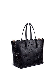 Alaïa 'Vienne Vague' mini lasercut leather tote