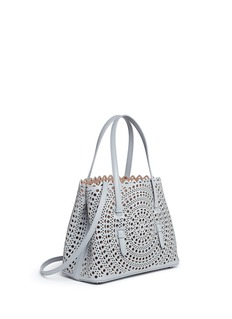 Alaïa'New Vienne' mini lasercut leather tote