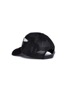 Venna Strass star crane embroidered baseball cap