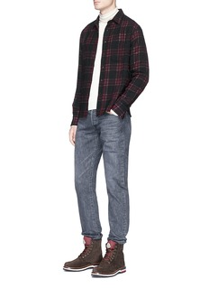 Simon Miller 'Kenai' check plaid wool shirt
