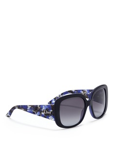 DIOR Oversized butterfly sunglasses