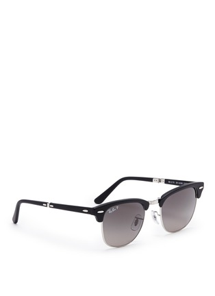RAY-BAN - 'Clubmaster Folding' browline sunglasses