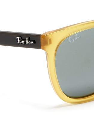 RAY-BAN-'Original Wayfarer' colourblock acetate sunglasses
