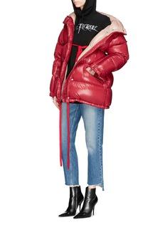 Moncler'Callis' oversized down puffer jacket