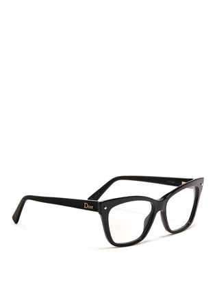 DIOR-Squared cat eye optical glasses
