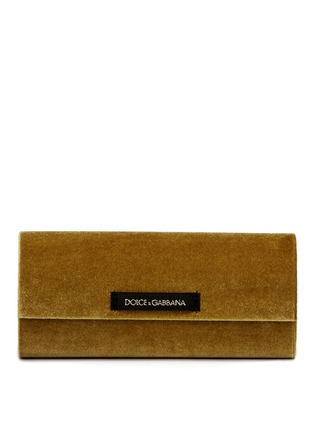 Front View - Click To Enlarge - Dolce & Gabbana - Metal lace cat eye sunglasses