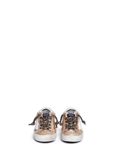 Golden Goose 'Superstar' glitter leather toddler sneakers