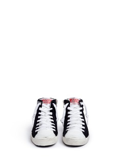Golden Goose 'Slide' high top canvas kids sneakers