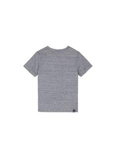 Mostly Heard Rarely SeenAll Over You' 8-bit poop emoji appliqué kids T-shirt