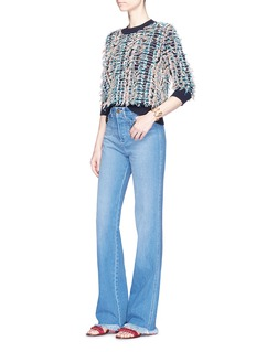 Chloé Braided fringe sweater