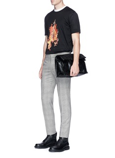 Lanvin 'Arrow in Fire' print T-shirt