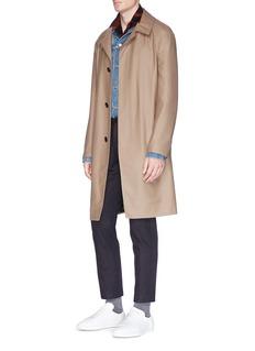 Lanvin Wool twill car coat
