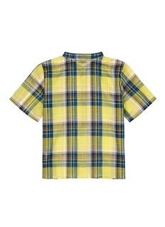 Bonpoint x The Webster 'Cesar' plaid kids cotton shirt