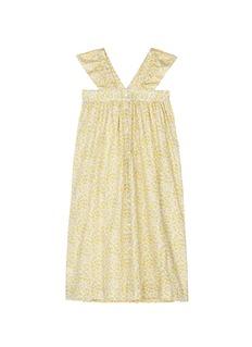Bonpoint x The Webster 'Eleana Liberty' floral print kids cotton poplin dress