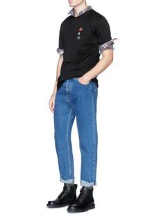 Lanvin Assorted appliqué T-shirt