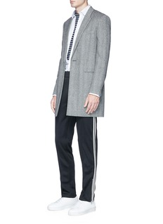 Lanvin Circle appliqué slim fit shirt