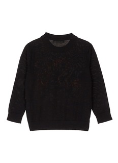 Sonia Rykiel Flamingo intarsia wool kids sweater