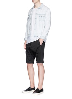 bassike 'Combat' cavalry twill shorts