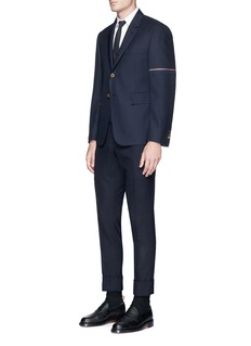 Thom Browne Thom Cat and Hector embroidered Oxford shirt