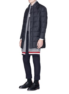 Thom Browne Wool twill down puffer coat