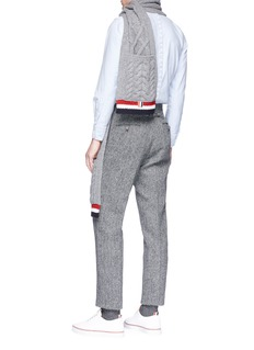 Thom Browne Button back placket Oxford shirt