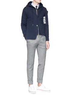 Thom Browne Layered blazer hoodie