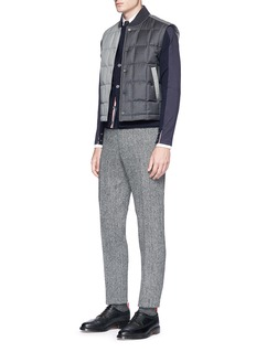 Thom Browne Cardigan front long sleeve T-shirt