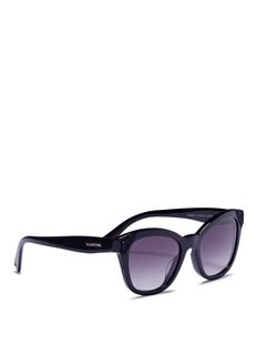 Valentino Beaded corner acetate sunglasses