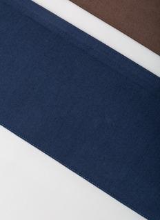 Frette Shading king size top sheet – Brown/Deep Blue
