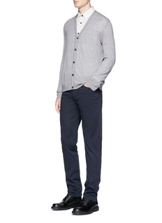 Theory 'Bores' cotton blend cardigan