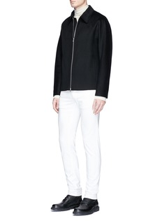 Theory Double faced cashmere jacket