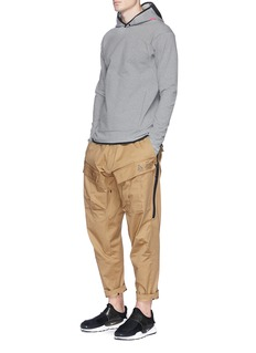 NikeLab 'ACG' mesh panel hoodie