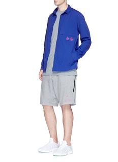 NikeLab'ACG' logo print wool blend T-shirt