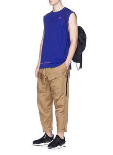 NikeLab'ACG' zip outseam cotton cargo pants