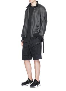 NikeLab 'ACG' zip outseam cotton cargo shorts