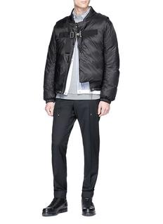 OAMC Detachable vest down jacket