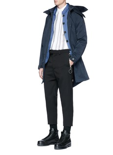 OAMC Cropped virgin wool gabardine pants